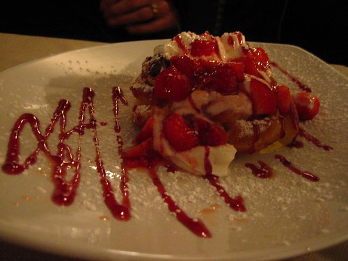 Le Zeppole - Cream Puff with Lemon and Strawberry