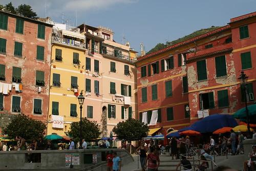 Vernazza's Main Piazza