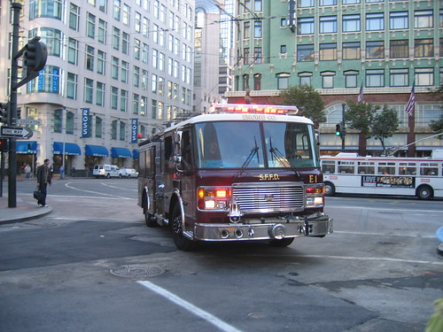 A San Francisco Fire Truck
