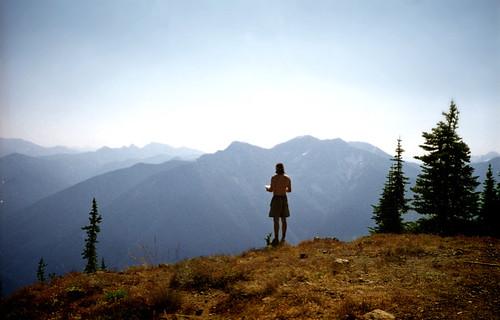 Brian at top of Desolation Peak