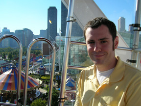 Mike on the Ferris Wheel