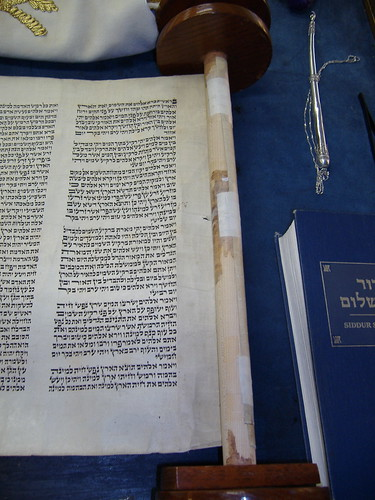 Soferet request: DON'T TAPE YOUR TORAH!