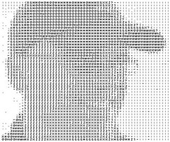 ASCII ME (B/W) (by Brian Sawyer)