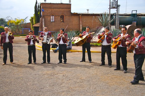 Mariachi Band Plays at Centinela Distillery