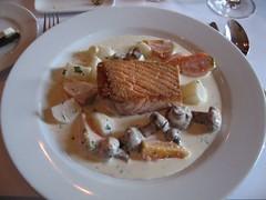 Sateed salmon