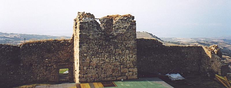 Castle of Mendenitsa in Greece