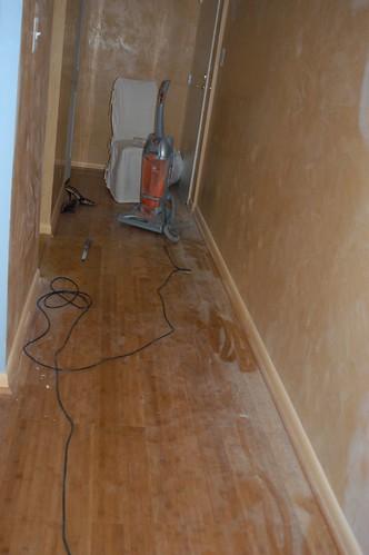 Dusty hallway