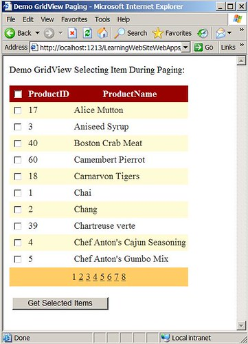 GridViewCheckBoxPaging1