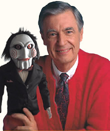 Mr. Rogers and Jigsaw
