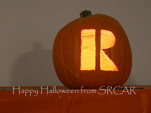 The SRCAR Halloween Pumpkin