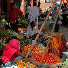Market in the Old City, Jaipur