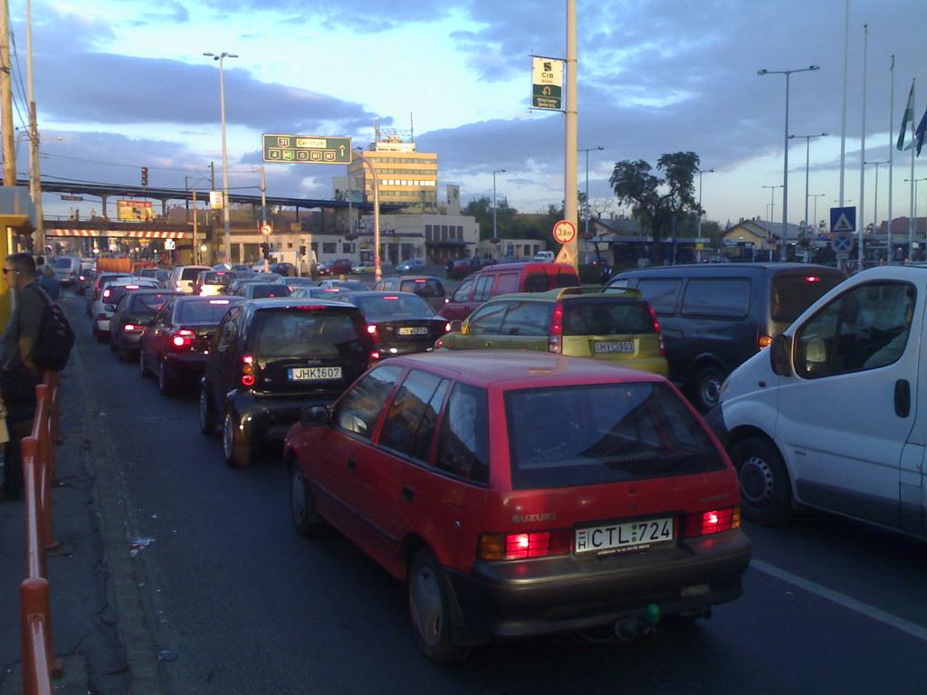 Monday traffic