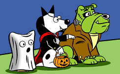 Dogpile Halloween 2006 Search Engine Logos