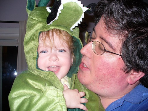 Baby Dragon and Dad