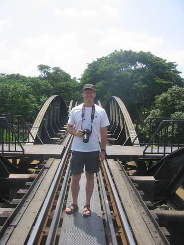 Dag on the Bridge on the River Kwai