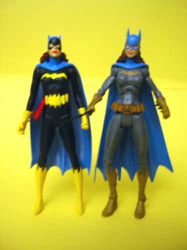 DC Superhero and DC Direct Batgirl