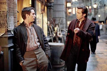 Christian Bale & Hugh Jackman