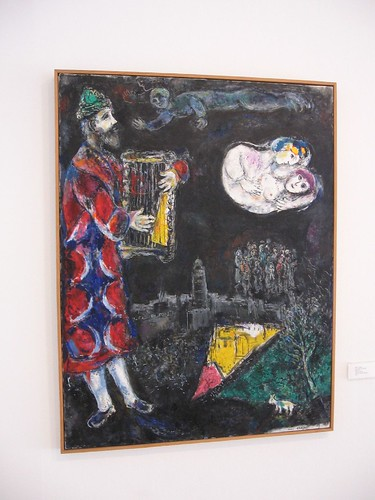 King David by Chagall