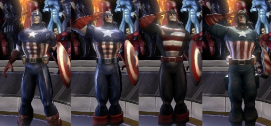 CAPTAIN AMERICA & Marvel Ultimate Alliance: Favorite Characters - Gen. Discussion ...