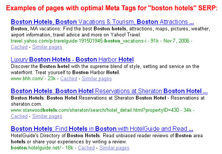 blog seo article on meta tags