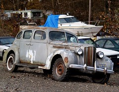 Packard rusting classic. photo by moonm