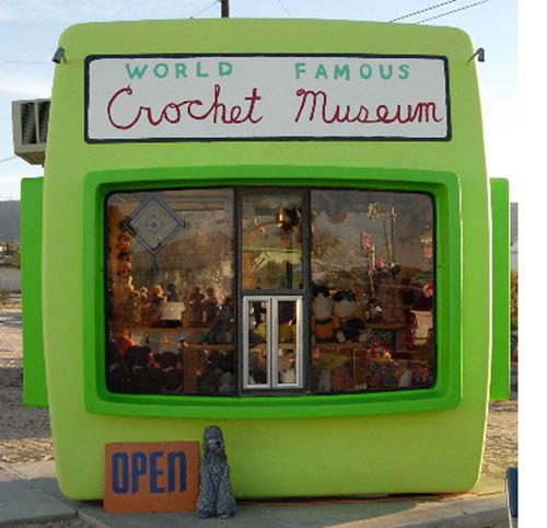 world-famous crochet museum