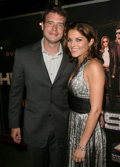 Scott Foley and Marika Dominczyk