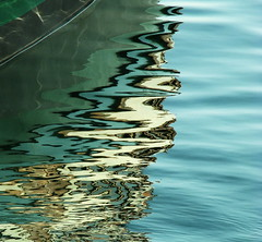Reflections #2, Toronto harbour