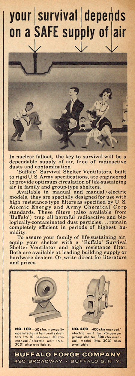 Survival Shelter Ventilator ad