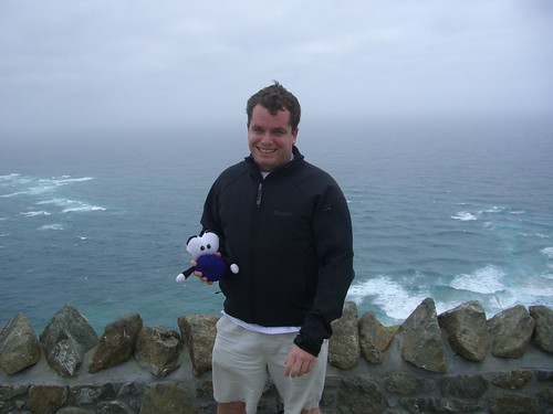 Pat and Squage at Cape Reinga