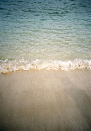 白良浜・海