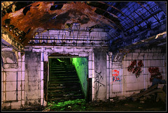 abandoned trainstation photo by silke s.