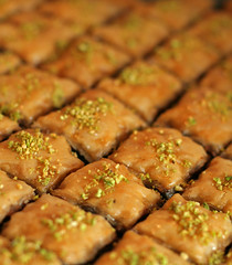 Chocolate Date Baklava