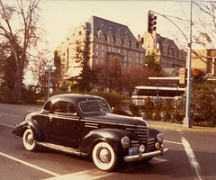 1939 Plymouth At The Empress Hotel - Victoria, B.C. 1980 photo by Mikey G Ottawa