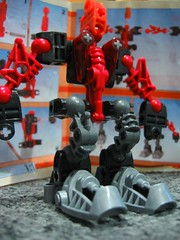Building a Bionicle