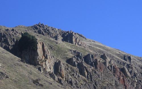Mission Peak rocks