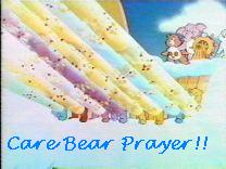 Care Bear Prayer