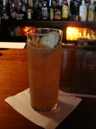 Pimm's Cup at Napoleon House