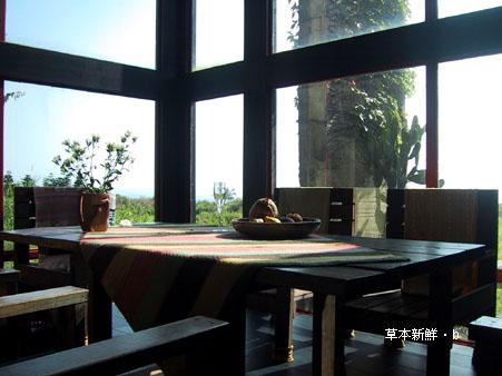 花蓮「沙漠風情」一樓客廳