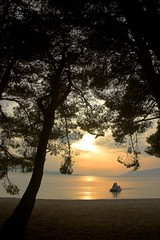 Croatia - Makarska - Beach Sunset