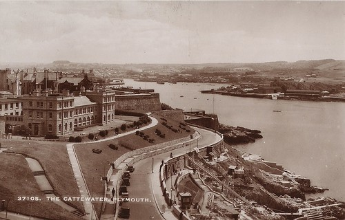 Plymouth Aquarium from the Hoe, 1933