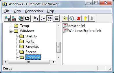Adding Applications to the Windows CE Start Menu – Windows