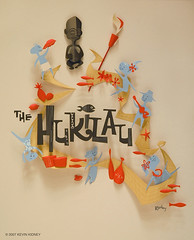 HUKILAU Paper Sculpture Poster - Kevin Kidney photo by Miehana