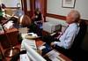 """Bob Schieffer Prepares for """"Face the Nation"""""""