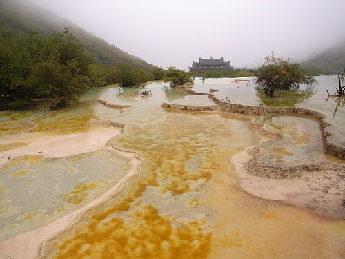 Huanglong valley