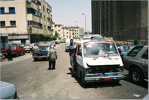 Random street in Cairo