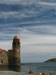 Church tower, Collioure