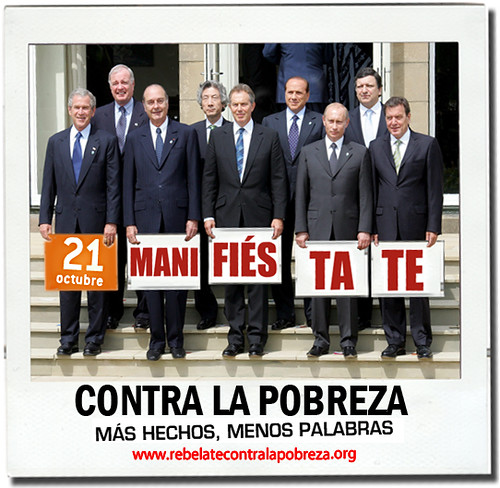 ¡¡¡MANIFIÉSTATE EL 21 DE OCTUBRE!!!