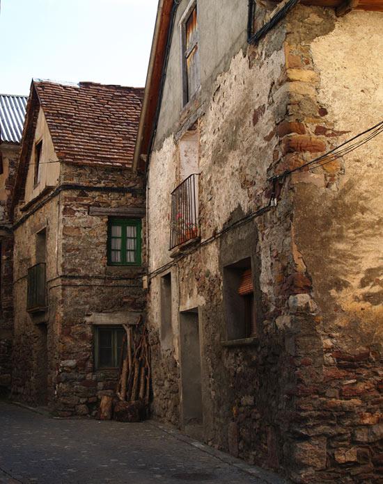 Casas en el valle de Chistau