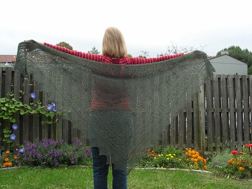 Pacific Northwest Shawl 2